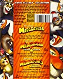 Image de Madagascar: Complete Collection 1-3 [Blu-ray]