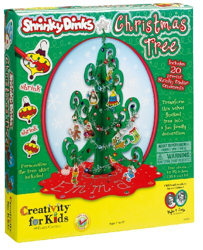 Creativity for Kids Shrinky Dinks® Christmas Tree