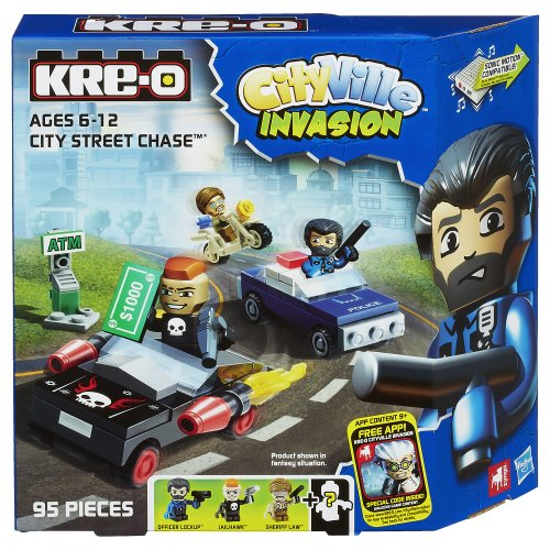KRE-O CityVille Invasion City Street Chase Set (A4913) - 1