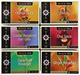 Stash Tea Black Tea Assortment 18 Count Box (Pack of 6)