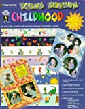 Childhood: 16 Acid-Free Sheets for Memory Albums, Stamping & More! (Paper Pizazz)