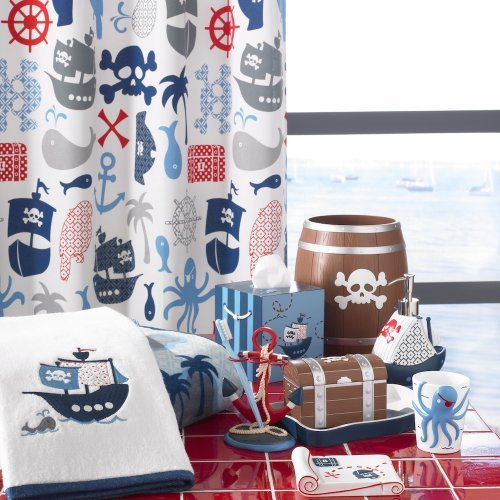 Pirates Collection Towel Set, 3 Piece Set