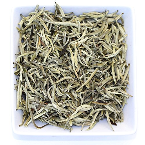 Organic Imperial Yunnan Silver Needle White Loose Leaf Tea - 3.5oz / 100g (Organic White Silver Needle compare prices)