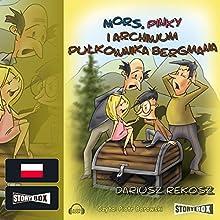 Mors, Pinky i archiwum pulkownika Bergmana (Szkolny detektyw 4) Audiobook by Dariusz Rekosz Narrated by Piotr Borowski