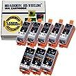 HI-VISION� Compatible Canon PGI-35, CLI-36 (5 Black, 3 Tri Color) Ink Cartridge Replacement for PIXMA iP100, iP110