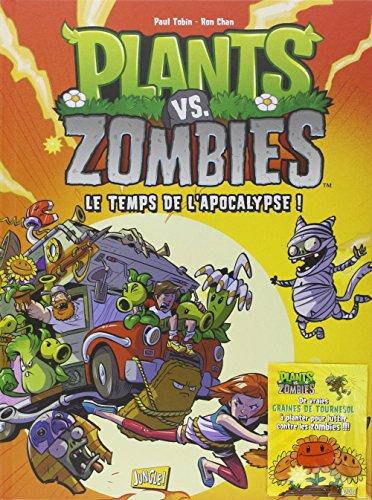 plants-vs-zombies-tome-2-le-temps-de-lapocalypse-avec-de-vraies-graines-de-tournesol-a-planter