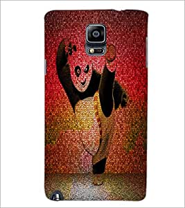 PrintDhaba Panda D-4397 Back Case Cover for SAMSUNG GALAXY NOTE 3 (Multi-Coloured)