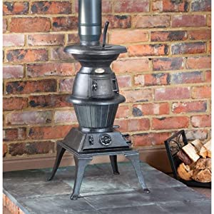 Clarke Pot Belly Stove Large 15 000 Btu S Hr Approx Diy Tools
