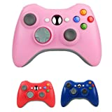 Bek Design Wireless Controller Game Pad Color for Xbox 360 (Pink) (Color: Pink)