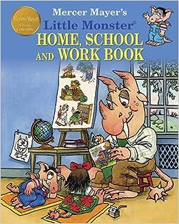 Mercer mayer 39 s little monster home school and work book for Mercer available loads