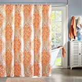 Intelligent Design Senna Shower Curtain - Orange - 72x72""