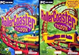 echange, troc Roller Coaster Tycoon + Roller Coaster Tycoon Looping en folie