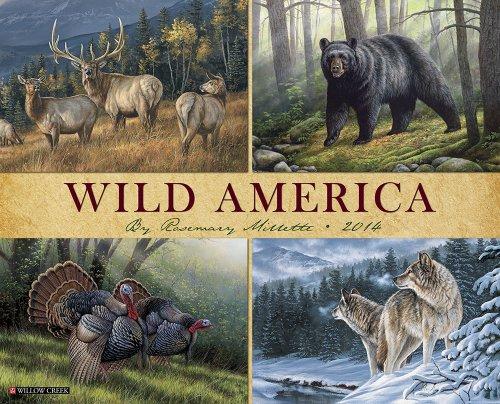 Wild America 2014 Calendar