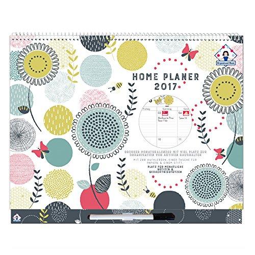 2017-Organised-Mum-Home-Planer-Kalender-Jan-Dez-2017-Monatlicher-Familienkalender-Familienplaner-mit-viel-Platz-Aufklebern-Tasche-fr-Papiere-und-ansteckbarem-Stift