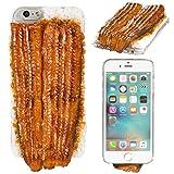 iPhone6s iPhone6 ケース カバー 食品サンプル 国産うなぎの蒲焼 クリアケース ハードケース