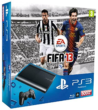 PlayStation 3 - Console PS3 500 GB [M Chassis] con FIFA 13 [Bundle]