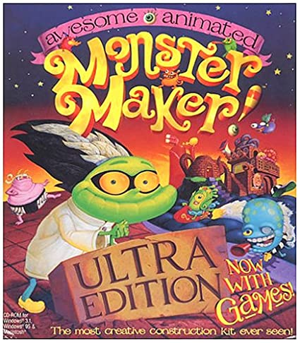 Awesome Animated Monster Maker Awesome Animated Monster Maker