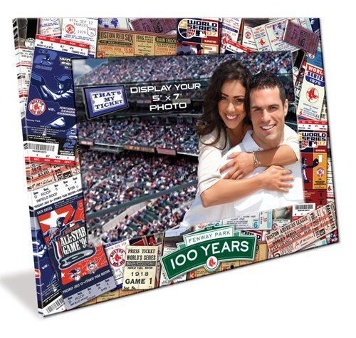 MLB Boston Red Sox Fenway Park 100th Anniversary 5x7 Picture Frame at Amazon.com