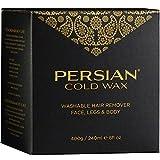 Persian Cold Wax Kit Body sensitive skin formula 8 Ounces