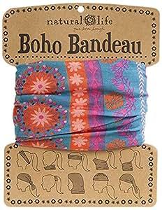 Natural Life Natural Life Boho Bandeau Band, Pink/Purple