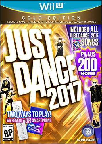 Just Dance 2017 Gold Edition (Includes Just Dance Unlimited subscription) - Wii U