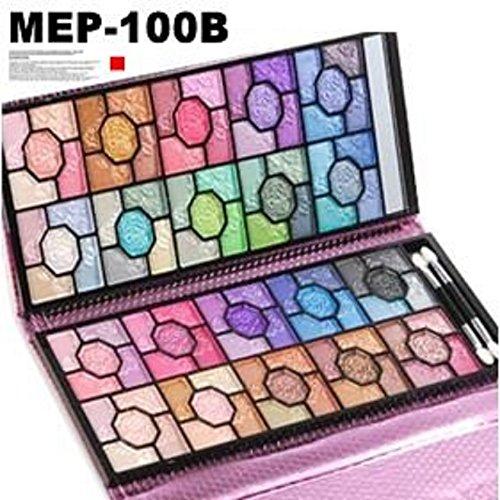 プロ仕様アイシャドウパレットメイクパレット100色 MEPー100B