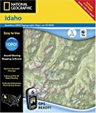 GPS or Navigation System - National Geographic TOPO! Idaho Map CD-ROM (Mac)