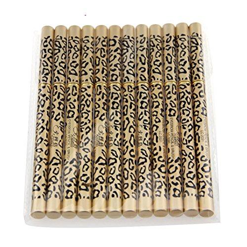 pixnor-lot-de-12-etanche-eyeliner-crayon-a-sourcils-avec-brosse-noir