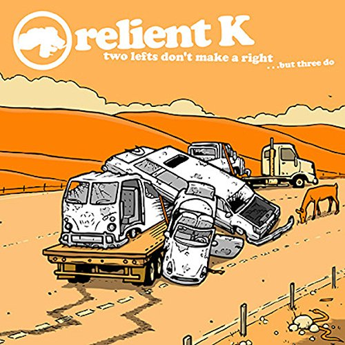 Original album cover of Two Lefts Don't Make A Right... but Three Do by Relient K