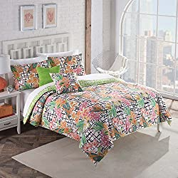 Vue 5 Piece Fiji Comforter Set, Full/Queen