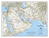 The Middle East, Afghanistan and Pakistan Wall Map (Laminated)
