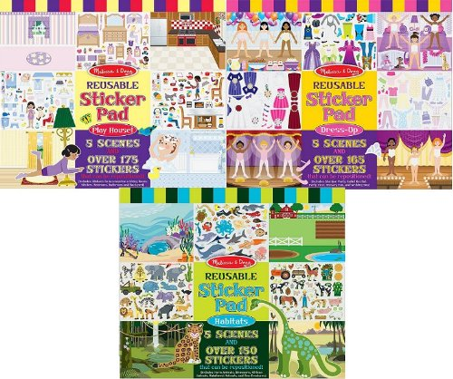 Melissa And Doug Sticker Book front-1044917