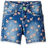 UCB Kids Girls' Shorts (16P4DENC0121I902_Blue_2Y)