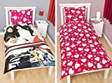 OFFICIAL One Direction 'Sweetheart' Single Reversible Duvet Cover Bed Set New Gift (1DSH1)