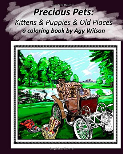 Precious Pets: Kittens & Puppies & Old Places