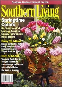 Southern living march 2007 top azalea picks luscious Southern living garden book