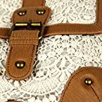 Ivory Crochet Lace Crossbody Bag