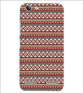 PrintDhaba Tribal Pattern D-5423 Back Case Cover for LENOVO VIBE K5 PLUS (Multi-Coloured)
