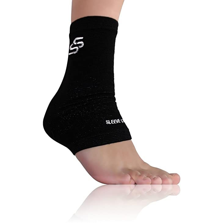 Sleeve Stars Plantar Fasciitis Foot Sleeve with Ankle Brace Strap