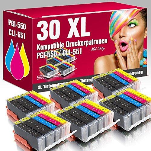 ms-point-30-kompatible-Druckerpatronen-mit-CHIP-und-Fllstandsanzeige-fr-Canon-Pixma-IP7200-IP7250-IP8700-IP8750-IX6800-IX6850-MG5400-MG5450-MG5500-MG5550-MG5600-MG5650-MG5655-MG6300-MG6350-MG6400-MG64