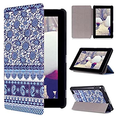 """TOOPOOT® Painting Leather Stand Cover for Amazon Kindle Fire HD 7"""" Tablet 2015 (d)"""