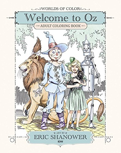 Worlds of Color: Welcome to Oz Adult Coloring Book (The World Of Oz compare prices)