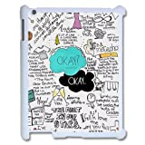 Design Funny Okay The Fault in Our Stars- John Green APPLE Ipad 1 2 3 Best Durable Case