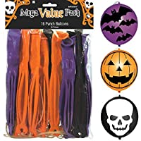 Halloween Punch Balloon (16-Pack) from Amscan