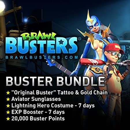 Buster Bundle: Brawl Busters [Game Connect]