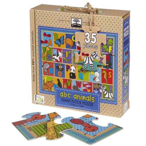Cheap Fun Innovative Kids Green Start Giant Floor Puzzle (ABC Animal) (B0057APY1S)