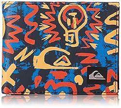 Quiksilver Men's Boardshort Wallet, BP Cave Rave Neon Orange, Medium
