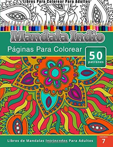 libros-para-colorear-para-adultos-mandala-indio-paginas-para-colorear-libros-de-mandala-intrincados-