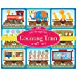 Eeboo Counting Train Wall Cards