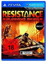 Wer zuerst kommt... 1x Resistance Burning Skies für PlayStation Vita ab 29,95 Euro zzgl. 5 Euro FSK 18 Versand + Vorbesteller-Vorteile